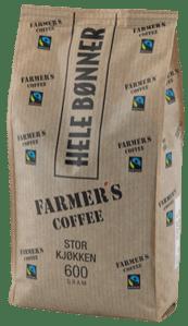 Fairtrade og økologisk kaffe. Kaffe på jobben.